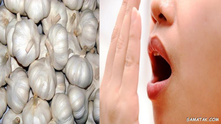 چگونه بوی سیر دهان رو از بین ببریم