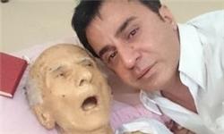 پدر داریوش فرضیایی (عمو پورنگ) درگذشت