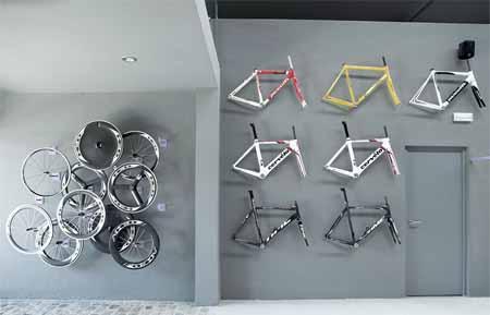 مدرن ترین مغازه دوچرخه فروشی در اسپانیا + تصاویر