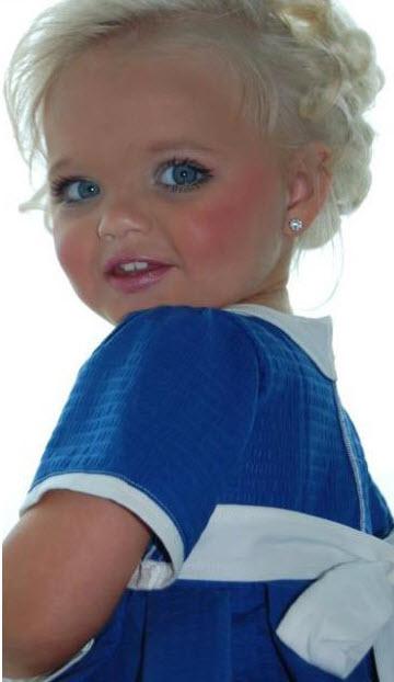 تصاویری از خوشگل ترین دختر بچه سال