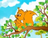 سنجاب کوچولو و نی نی (قصه کودک)