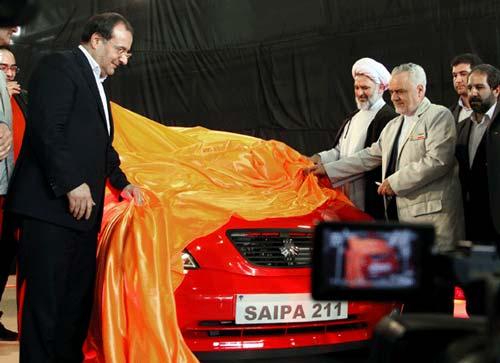 تصاویری از خودروی جدید سایپا 211 (تیبا هاچ بک)