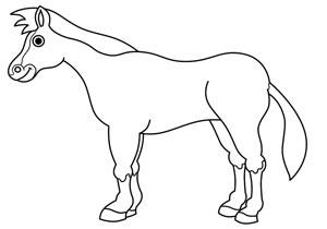 آموزش کشیدن نقاشی اسب