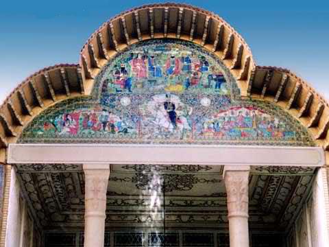 آشنایی با باغ ارم شیراز در استان فارس + تصاویر