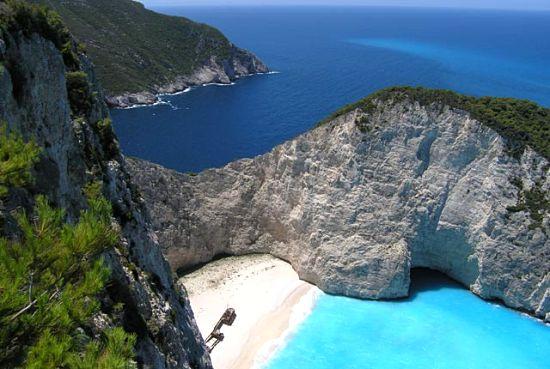 زیباترین ساحل جهان در جزیره زاکینتوس یونان
