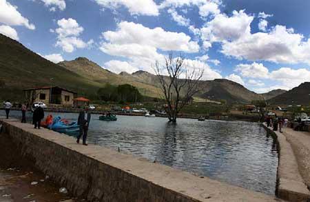 آشنایی با چشمه بکر شاه بلاغی در استان اردبیل