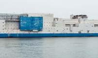کشتی زندان شناور روی آب های لانگ آیلند نیویورک