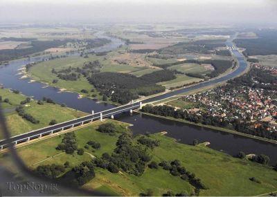 تصاویری از پل زیبای ماگدبورگ در آلمان