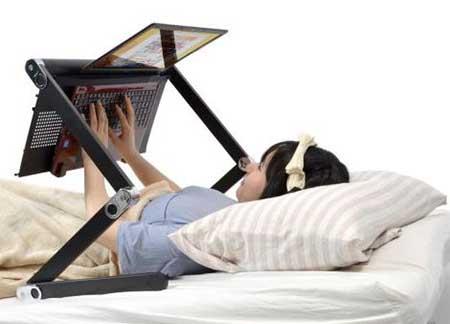 ساخت میز لپ تاپ