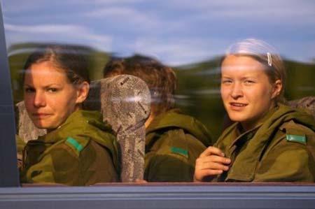 زیباترین زنان دنیا در ارتش نروژ استخدام شدند (تصویری)