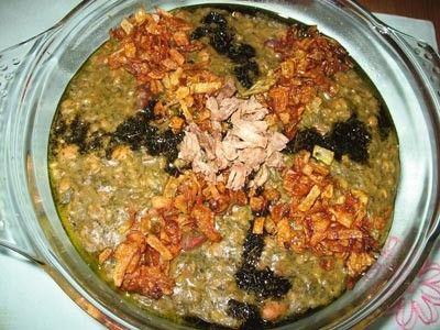 طرز تهیه آش آلو بدون گوشت + مواد لازم و دستور پخت