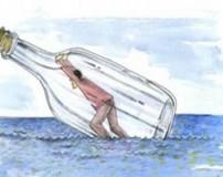 عکس العمل آدم های مختلف در هنگام غرق شدن در آب