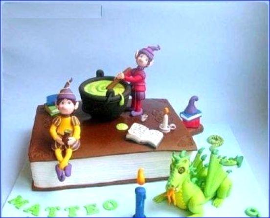 مدل های جدید و زیبای کیک تولد