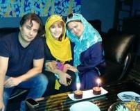 جشن تولد 17 سالگی دختر بهاره رهنما
