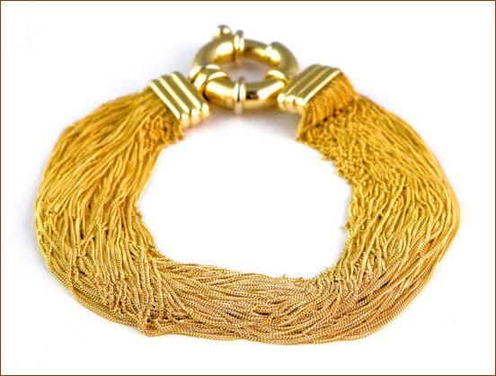 منتخبی از نمونه های برتر دستبند طلا و جواهر (2)