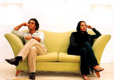 مهناز افشار و محمد رضا گلزار با یک سریال خانگی می آیند
