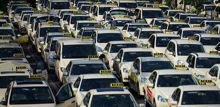 جالب ترین تاکسی های شهری در جهان (تصاویر)