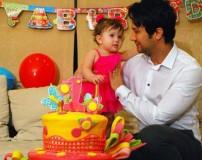 تصاویری از جشن تولد پناه کوچولو دختر شاهرخ استخری