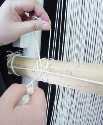 روش بافتن قالی چگونه است؟
