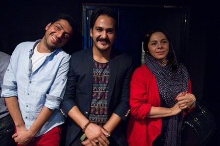 تصاویری از مراسم اکران فیلم آتش بس 2 با حضور هنرمندان ایرانی