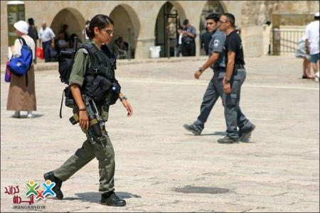 عکس هایی از دختران ناز و خوشگل در ارتش اسرائیل