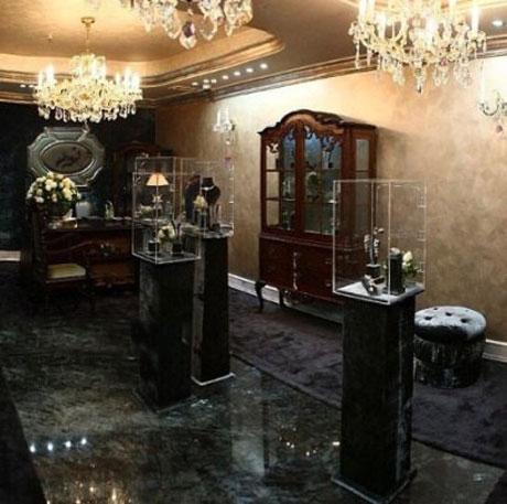 افتتاح گالری جواهرات گرانقیمت در الهیه تهران توسط زن علی دایی + تصاویر