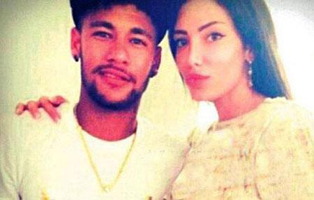 نیمار، فوتبالیست مشهوری که عاشق یک دختر مانکن شد + تصاویر