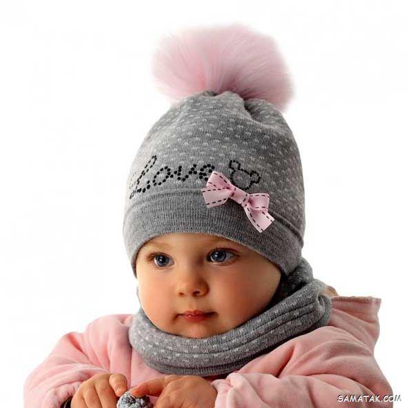 جدیدترین مدلهای شال و کلاه بافتنی بچه گانه (100 عکس)