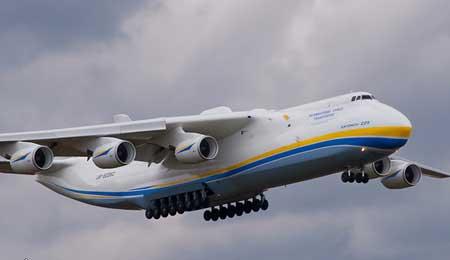 آنتونوف An-225، بزرگترین هواپیمای ساخته شده در جهان + تصاویر