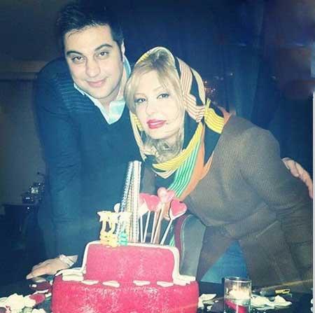 سالگرد ازدواج آرش پولاد خان با نیوشا ضیغمی