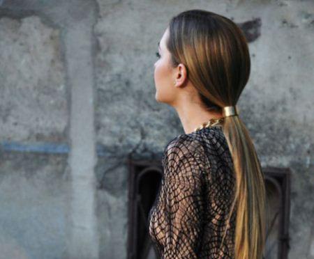مدل های ایتالیایی بستن مو از پشت سر