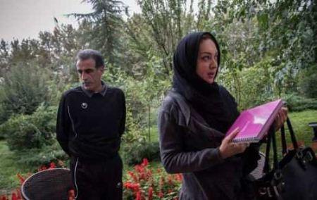 حضور جنجالی نیکی کریمی در خودروی قلعه نویی + تصاویر