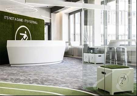 افتتاح استودیو فوتبال بین المللی در مونیخ + تصاویر