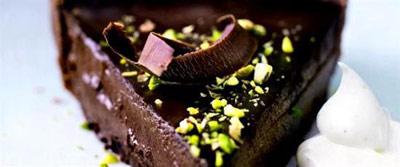 آموزش درست کردن دسر شکلاتی زمستانی