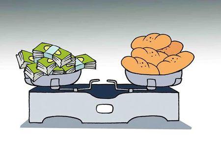 کاریکاتورهای گران شدن نان