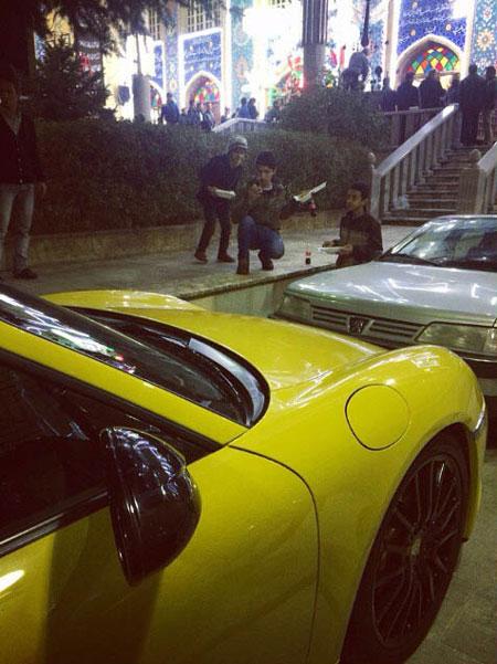 عکس هایی از خودروی لوکس هوتن قلعه نویی