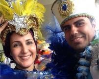 عکس های لو رفته از بازیگران ایرانی در سواحل برزیل
