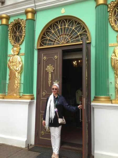 عکس های بد حجاب آناهیتا نعمتی در مسکو