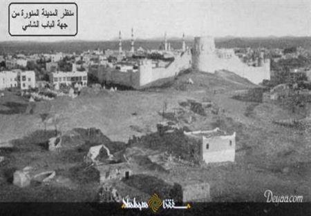 عکسی از مدینه منوره در 100 سال قبل