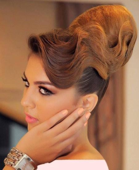 عکس مدل مو عروس در اینستاگرام