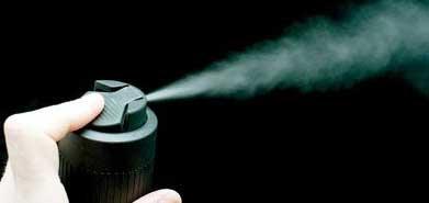 در هنگام استفاده از اسپری مو و تافت این نکات را رعایت کنید