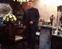 علی دایی در جواهر فروشی همسرش + عکس