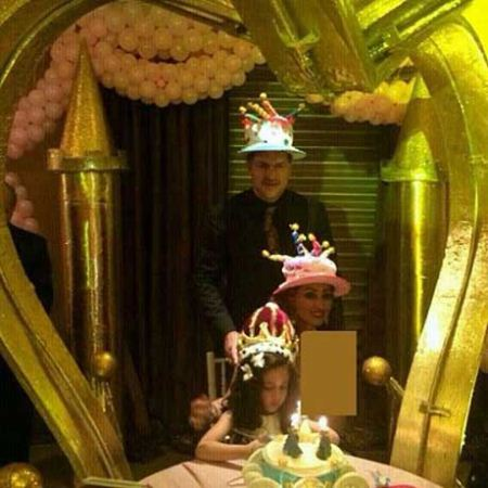جشن تولد نورا دایی + تصاویر