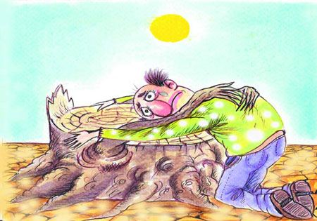 جالب ترین کاریکاتورهای طنز محیط زیست
