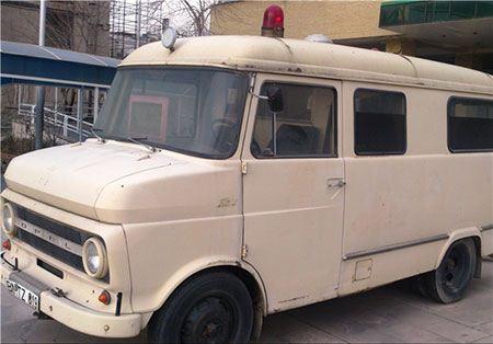 نخستین آمبولانس در ایران + تصاویر