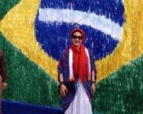 عکس های بدون سانسور از سفر فاطمه گودرزی به برزیل