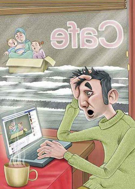 جالب ترین آلبوم کاریکاتور مفهومی و بی کلام