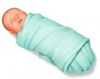 قنداق کردن نوزاد صحیح است + طریقه بستن قنداق نوزاد