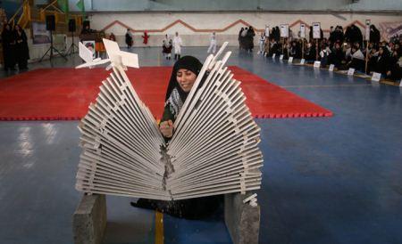 عکس های جشنواره ورزش قهرمانی بانوان سپاه پاسداران اسلامی