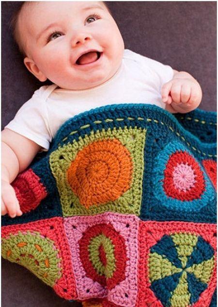 مدل های جدید پتو بافتنی ویژه نوزادان